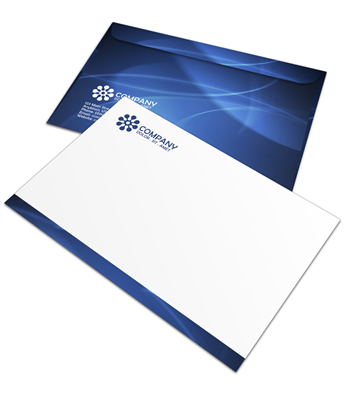 "6.5"" x 9.5"" Booklet Envelope - Offset Black or PMS - 1, 2 or 3 Colors Printing"