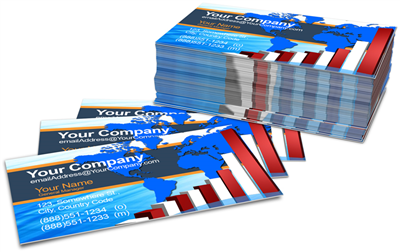 Business Cards - Offset Black or PMS - 1, 2 or 3 Colors Printing