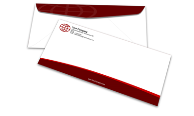 #10 Envelope - Black or PMS - 1, 2 or 3 Colors Printing