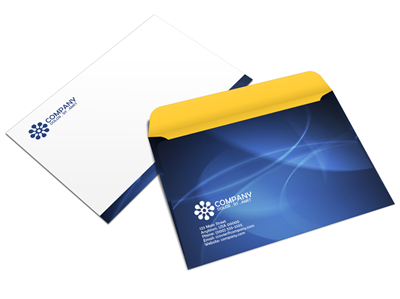 "6"" x 9"" Booklet Envelope - Offset Black or PMS - 1, 2 or 3 Colors Printing"