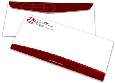 #12 Envelope - Offset Black & PMS Colors - 1, 2 or 3 Colors Printing