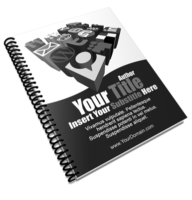 "Booklets B&W - 8.5"" x 11"" Self Cover"