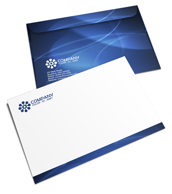"9.5"" X 12.5"" Booklet Envelope - Offset Black or PMS - 1, 2 or 3 Colors Printing"